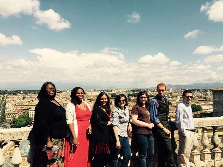 vatican archives group shot