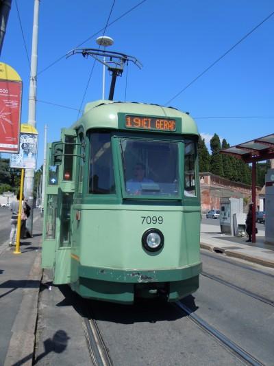roman streetcar